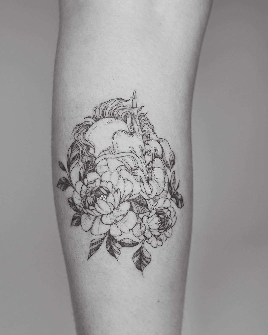 Studio Ghibli Spirited Away Tattoos Best Tattoo Ideas