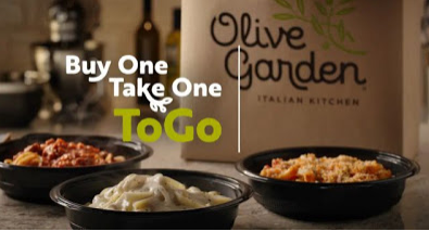 """Olive Garden is offering a slight twist on their """"Buy One"""