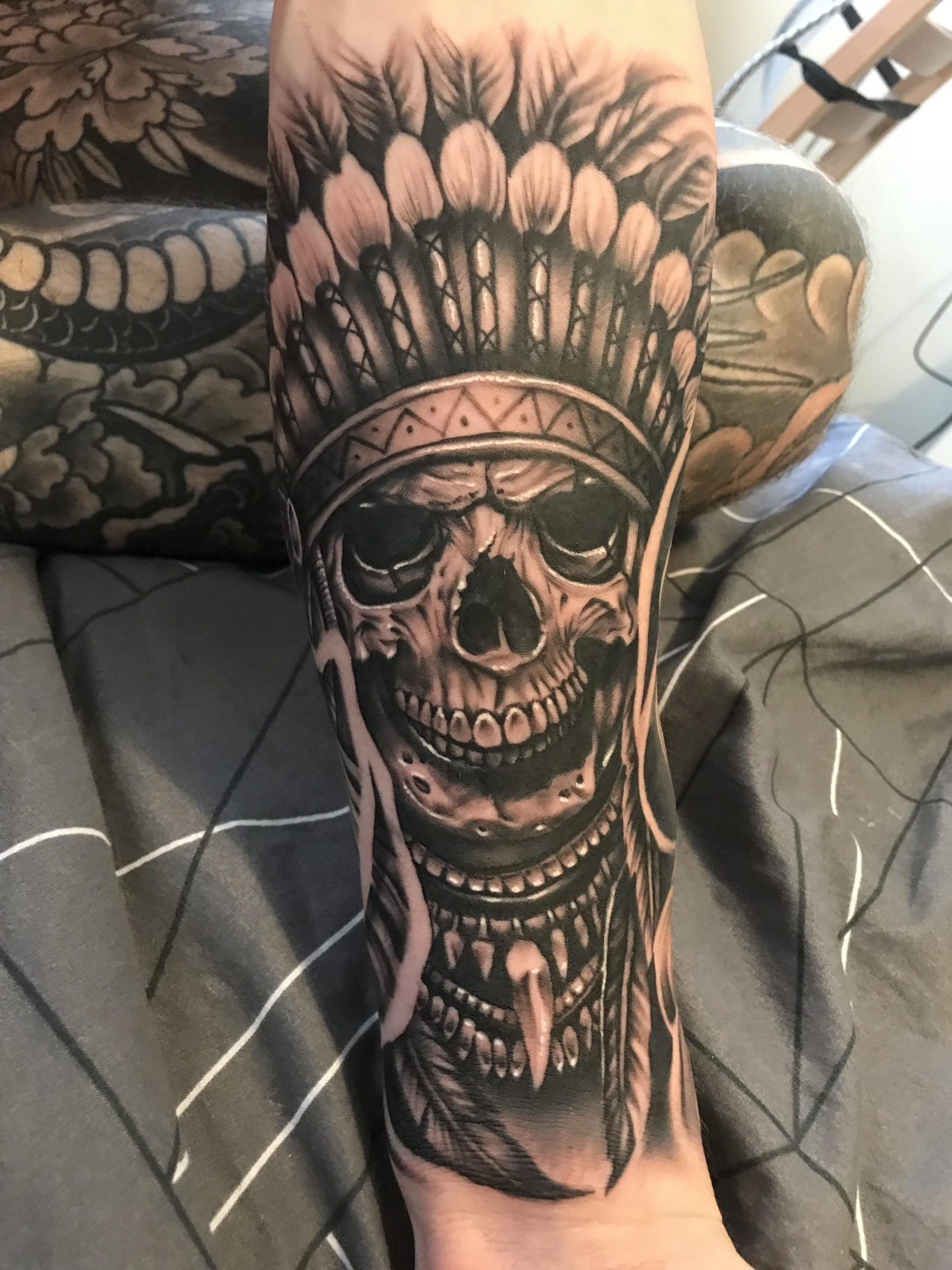 Half sleeve complete by sam mason troy kline to ink in
