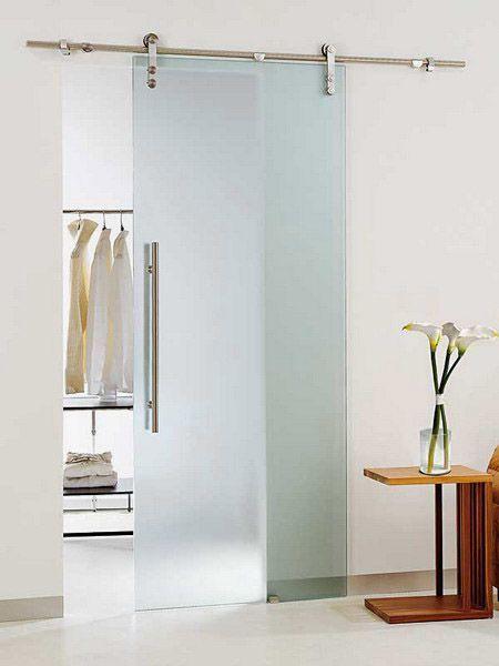 Glass sliding door. mooi als tussendeur naar de badkamer   If we had ...