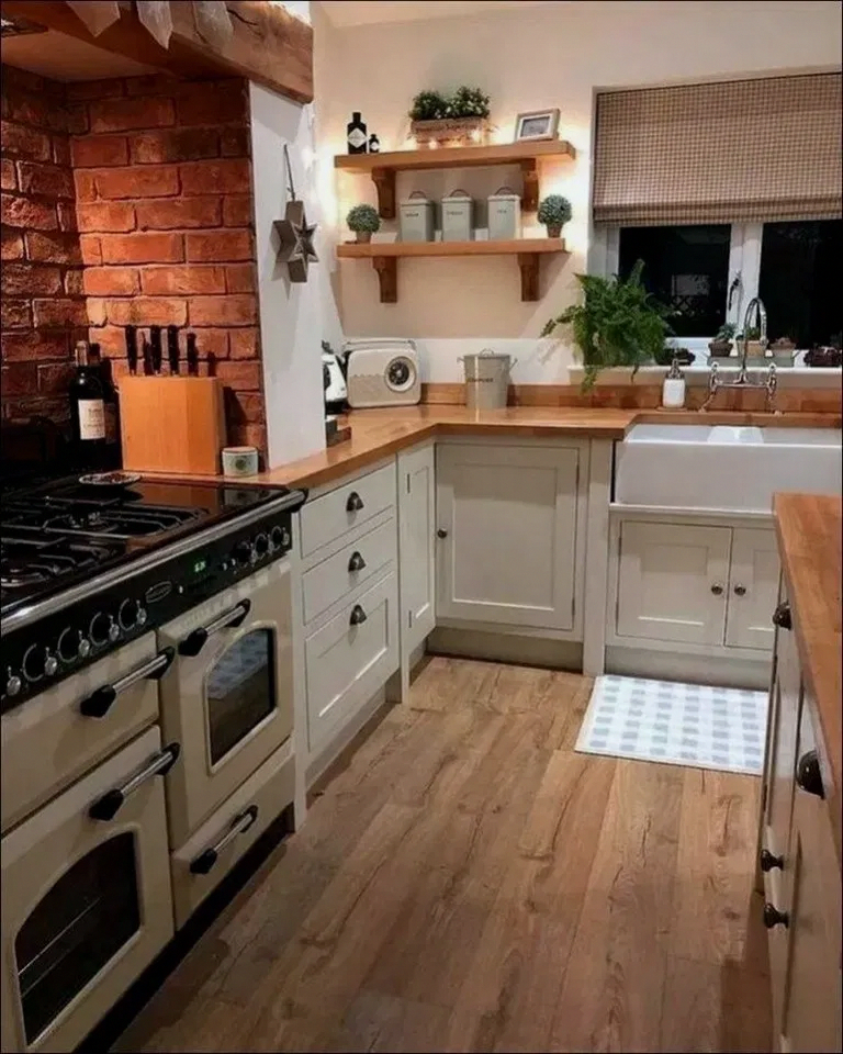 40+ Beautiful Simple French Country Kitchen Ideas For