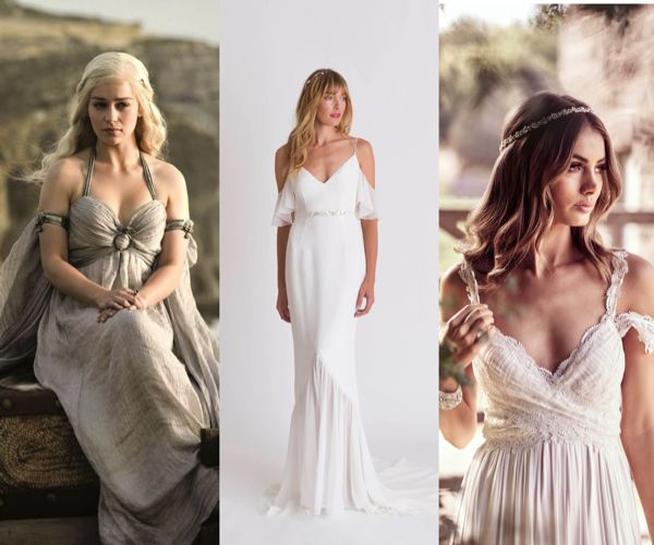 Wedding Hairstyles Games: Game Of Thrones Wedding Dress Style Inspiration