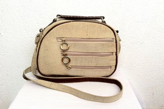 San Marino Shoulder Bag Camera Bag Washed by BlastFromThePastBags 3b2b833c9aae2