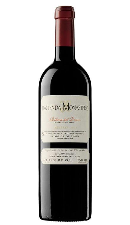 Vino Tinto Hacienda Monasterio Reserva 2008 Vinos Tintos D O Ribera Del Duero 34 20 Precio Con I V A Incluido Wine Bottle Wine Tasting Wine And Liquor