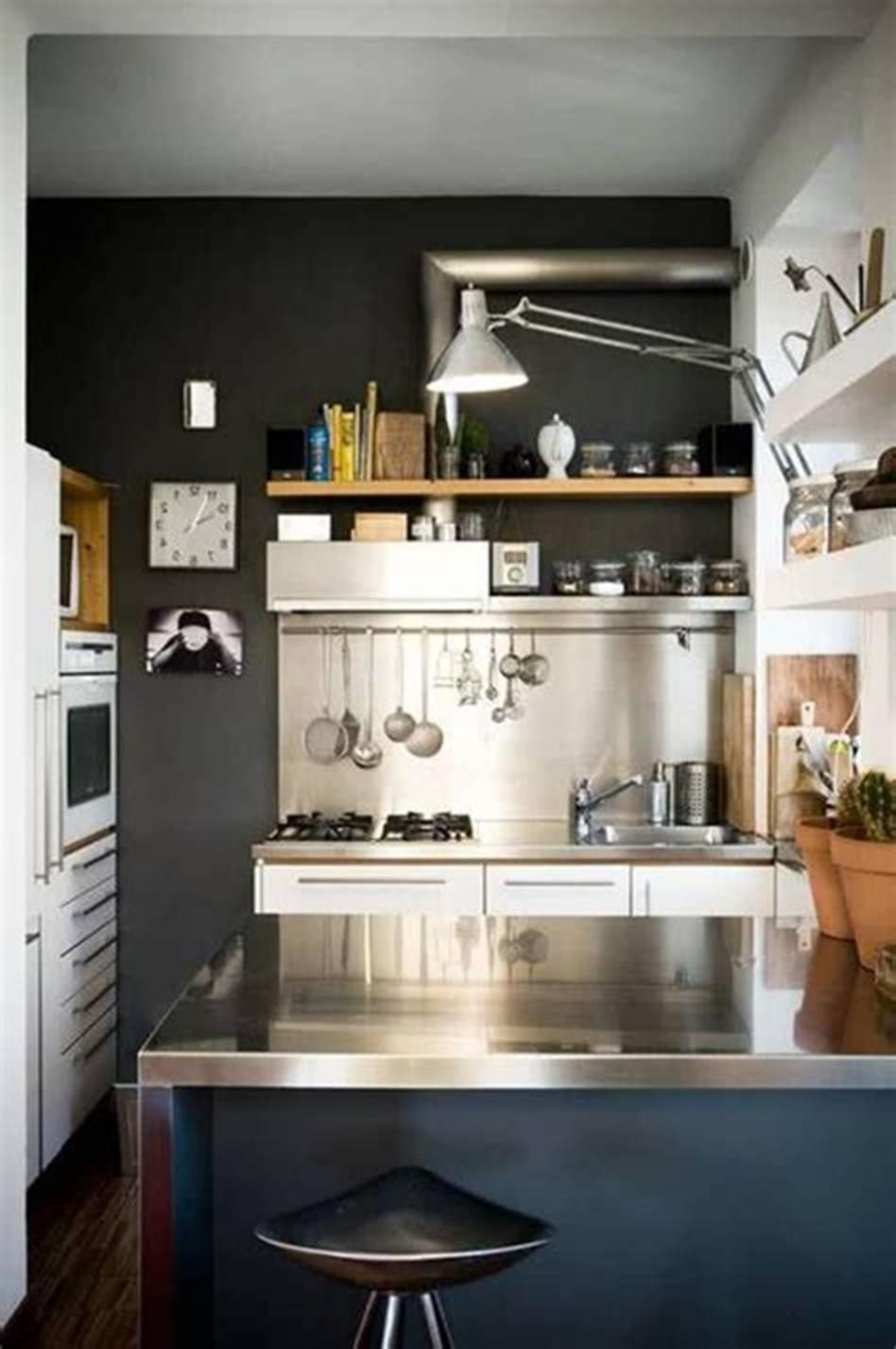 50+ Amazing Modern Kitchen Design Ideas for Small Spaces ...