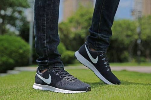 separation shoes 1fb6d 9070d ... discount coupon nike zoom pegasus 34 men black durk grey white e1181  0ef9d 701da 478e6