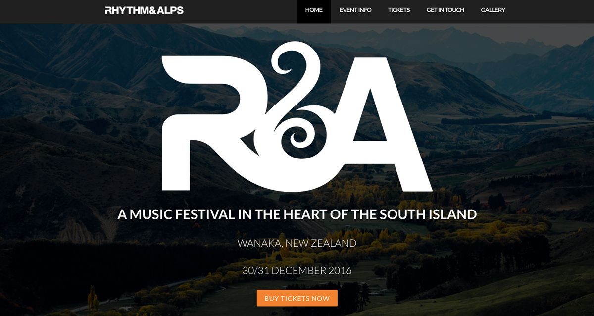 Come party with us at Rhythm and Alps, the South Island's
