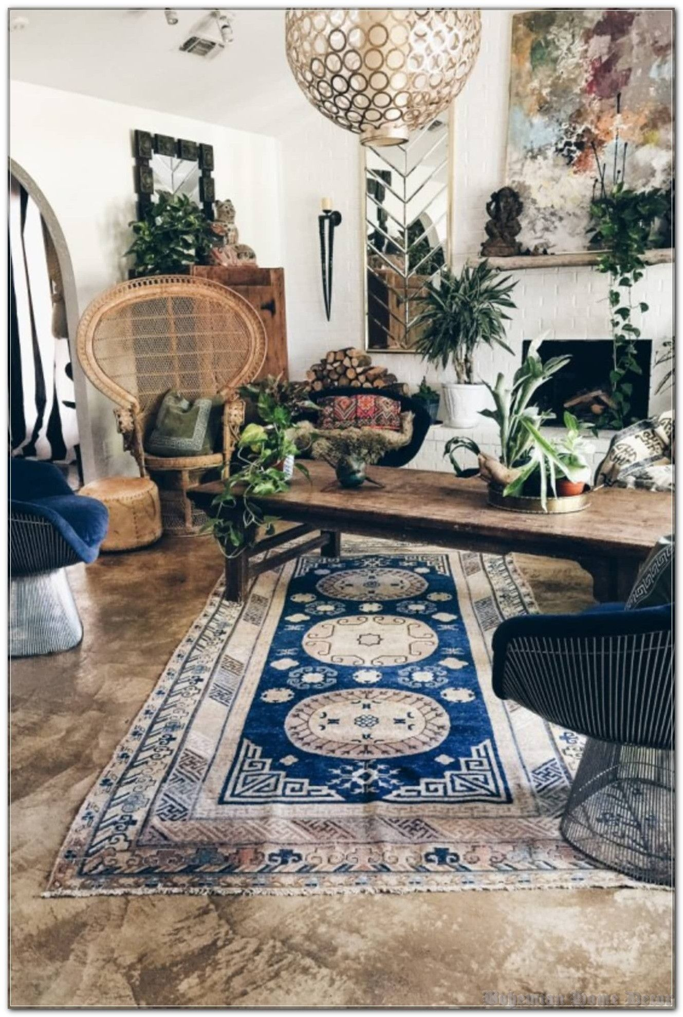 Bohemian Home Decor Without Driving Yourself Crazy