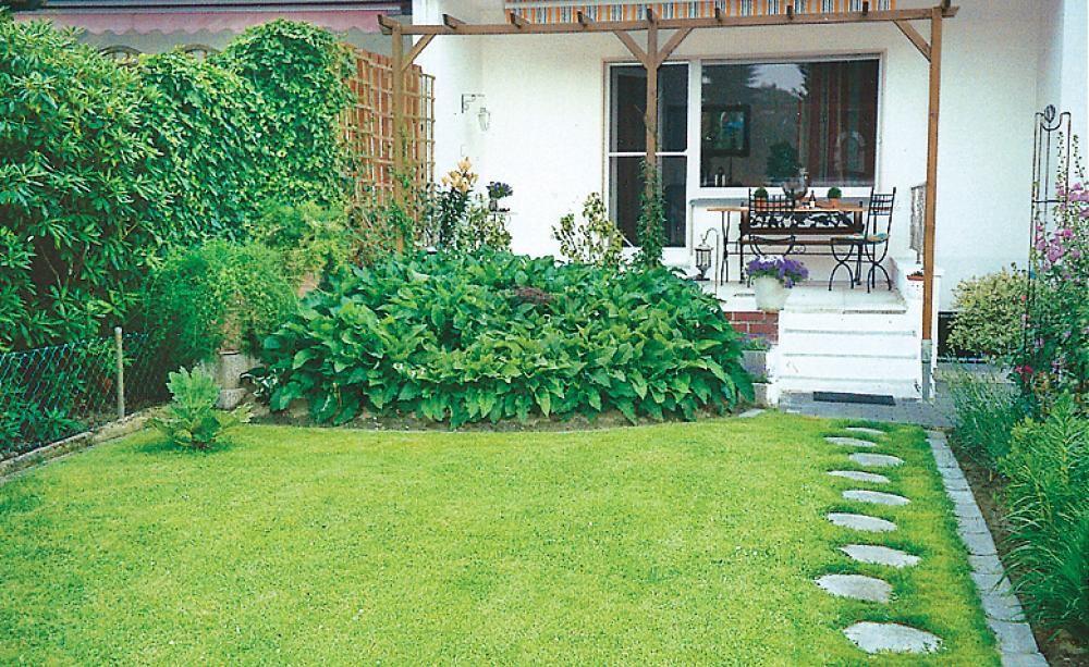 ideen f r einen reihenhausgarten garten pinterest reihenhausgarten steinweg und g rten. Black Bedroom Furniture Sets. Home Design Ideas