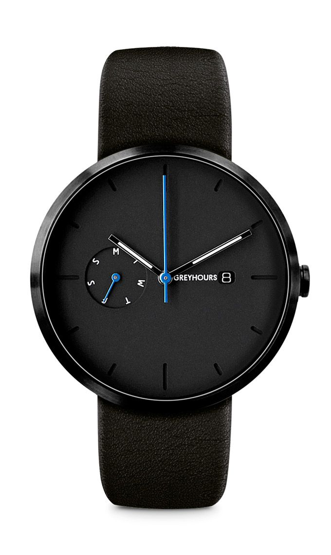 With its 40 mm diameter, brushed stainless steel case adorned with a DLC (Diamond Like Carbon) coating, the Essential proudly shows off its sleek design as...