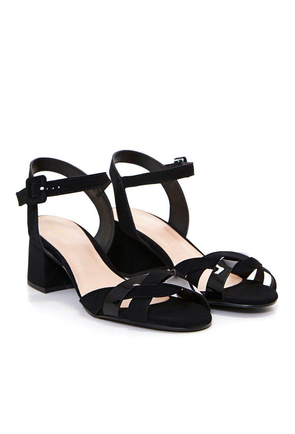 Durable Mujer Zapatos Marypaz Sandalias peep toe tacón