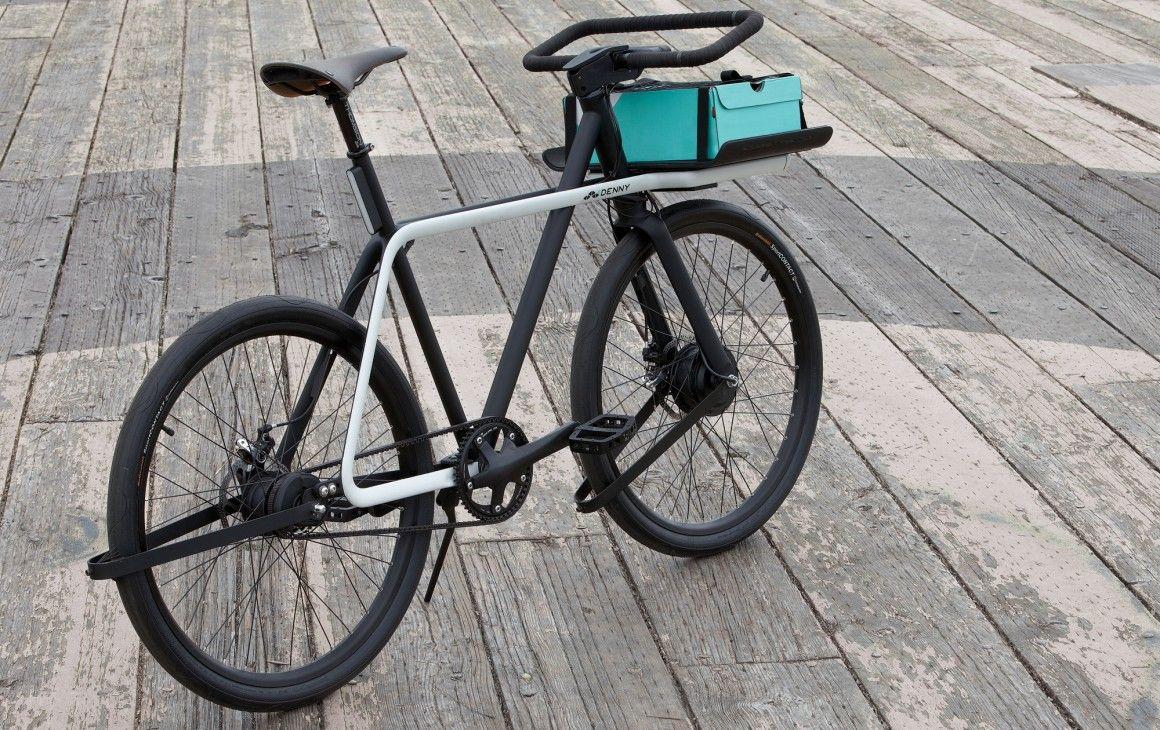 Una bicicleta eléctrica con estilo, que te lleve cada día. Denny.