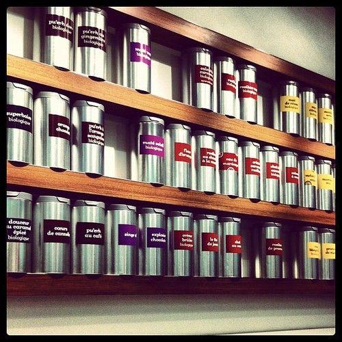 Good Idea For Loose Tea Storage!