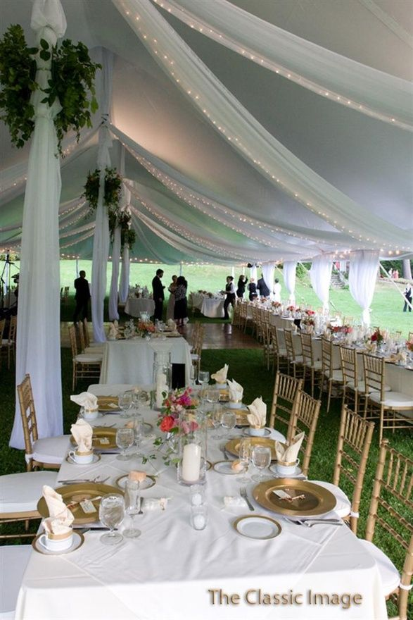 Wedding Reception Tent Love This Think