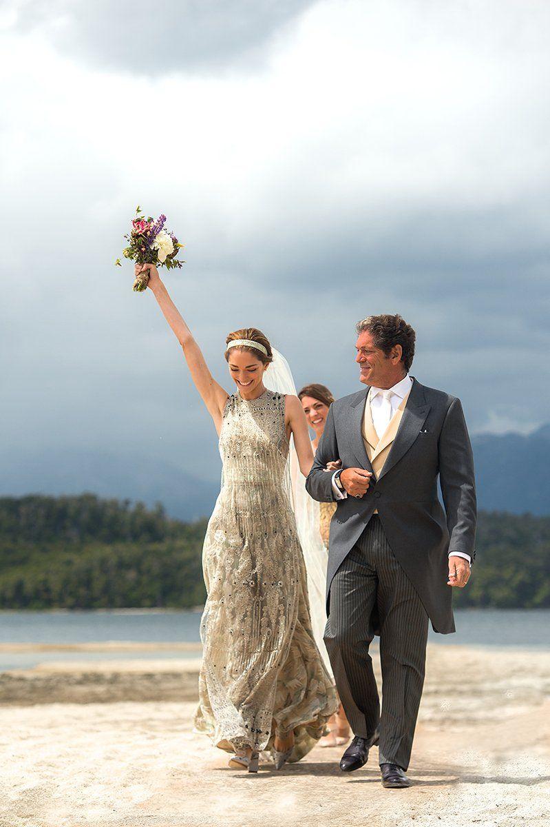Sofía Sanchez Barrenechea and Alexandre de Betak\'s Patagonia Wedding ...
