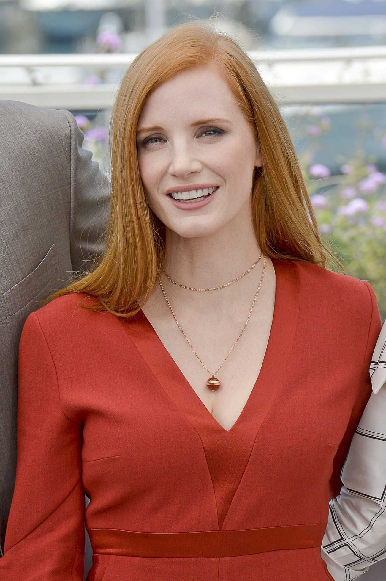 Jessica Chastain - Jury photocall, 70th Cannes Film Festival, France on May 17