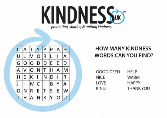 Kindness word searches - one easy, one harder. | Homeschool PSCHE ...