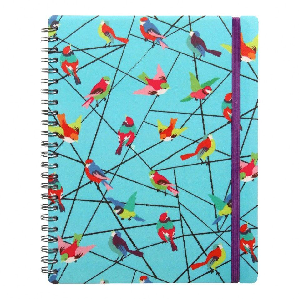 Birds on wire A5 ruled notebook   Stationery   Pinterest   A5 ...