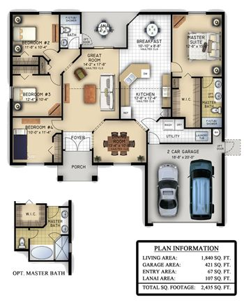 The Norfolk Southern Homes Ongoing Commitment To Customer Satisfaction Means That These Plans May Be Amended Without Free Floor Plans Porch Plans Floor Plans