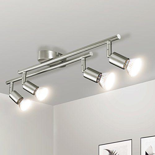 Luminaire Plafonnier Led Gr4tec Applique Lampe Spots De Plafond Salon Salle De Bain Cuisine Salle A Manger Gu10 Luminaire Plafonnier Plafonnier Led Luminaire