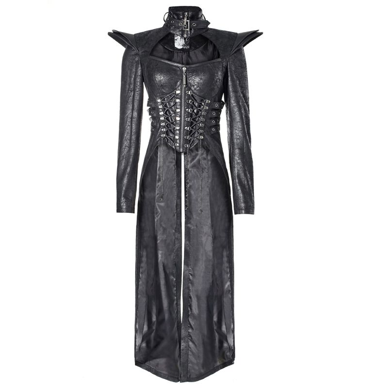 b9b2778c58ff Biker- /Punk-Vokuhila-Mantel Enchantress in 2019 | Gothic Female ...