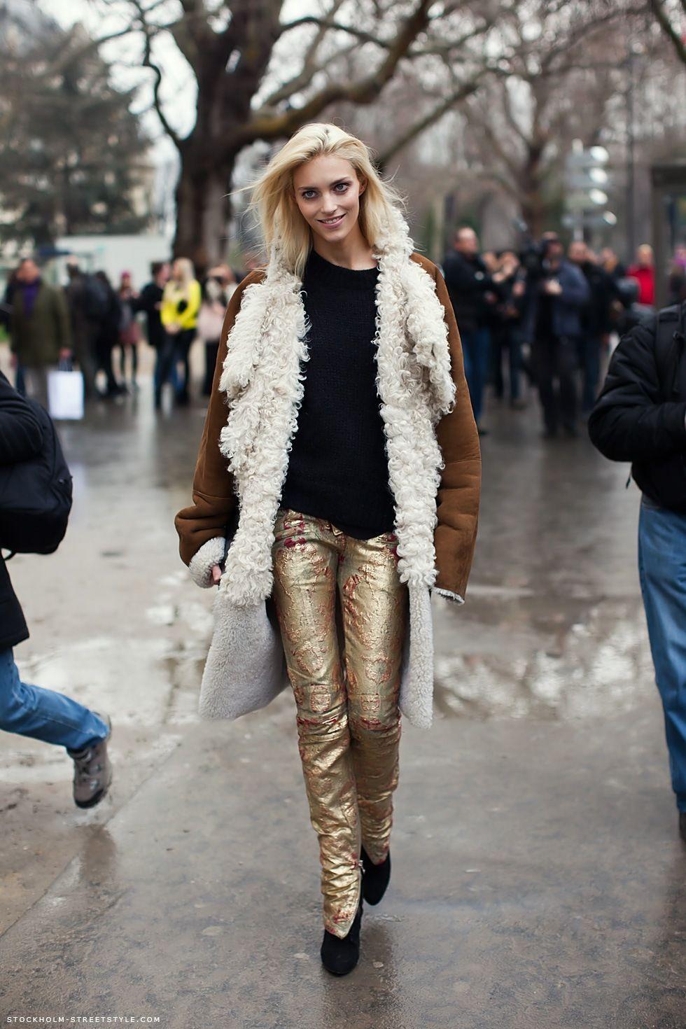 the pants, the jacket, the fur.. so joy!