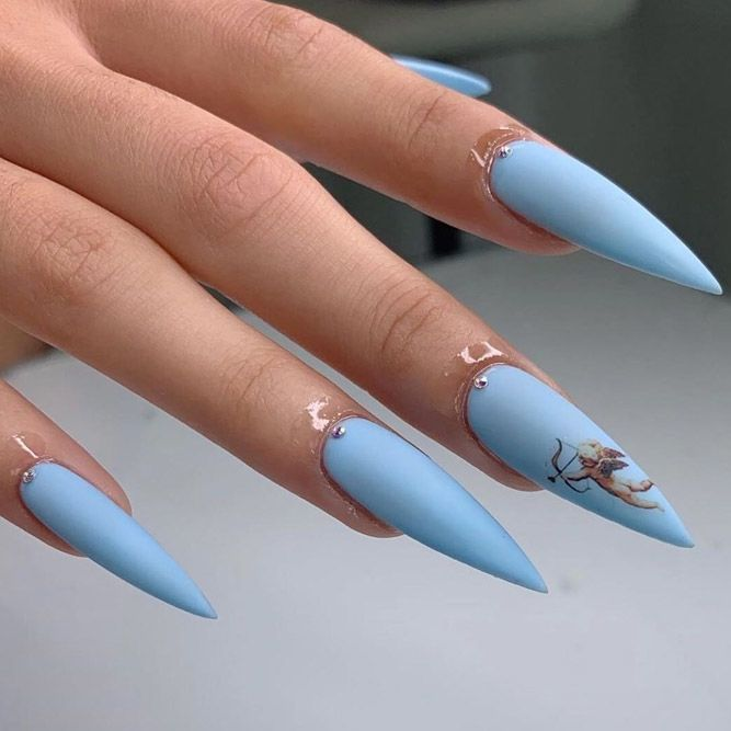 Inspiring Stiletto Nails To Win Over You | NailDesignsJournal.com