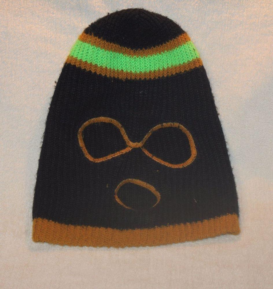 8e1af42a41a vintage 1970 s Full Face Bank Robber Stocking Cap   Ski mask   winter hat   Unbranded  SkiMask
