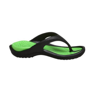 Crocs Athens Black Lime at Flopestore Malaysia, www.flopstore.my