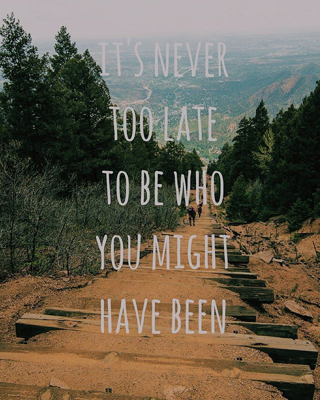 Image result for it's never too late to discover who you really are