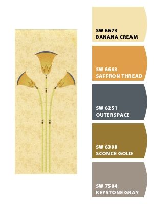 Papyrus colors from Sherwin Williams