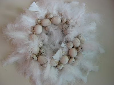 Egg & Feather Wreath!