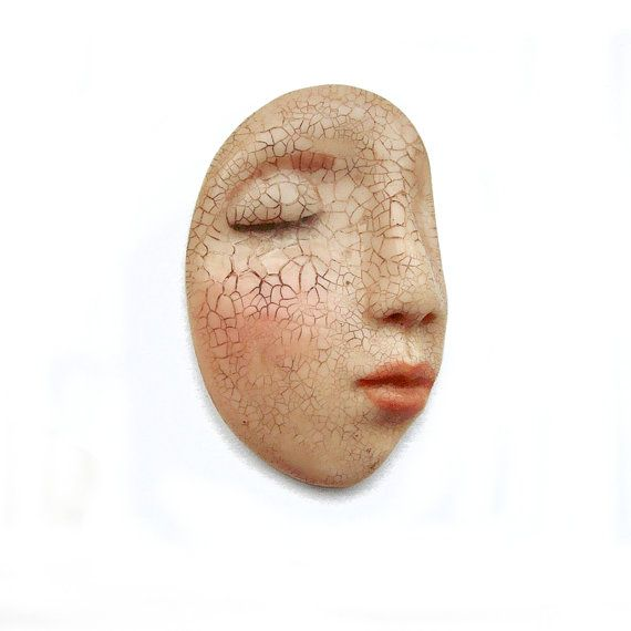 Cracked Dream Profile Art Doll Face Cab Sleepy by graphixoutpost