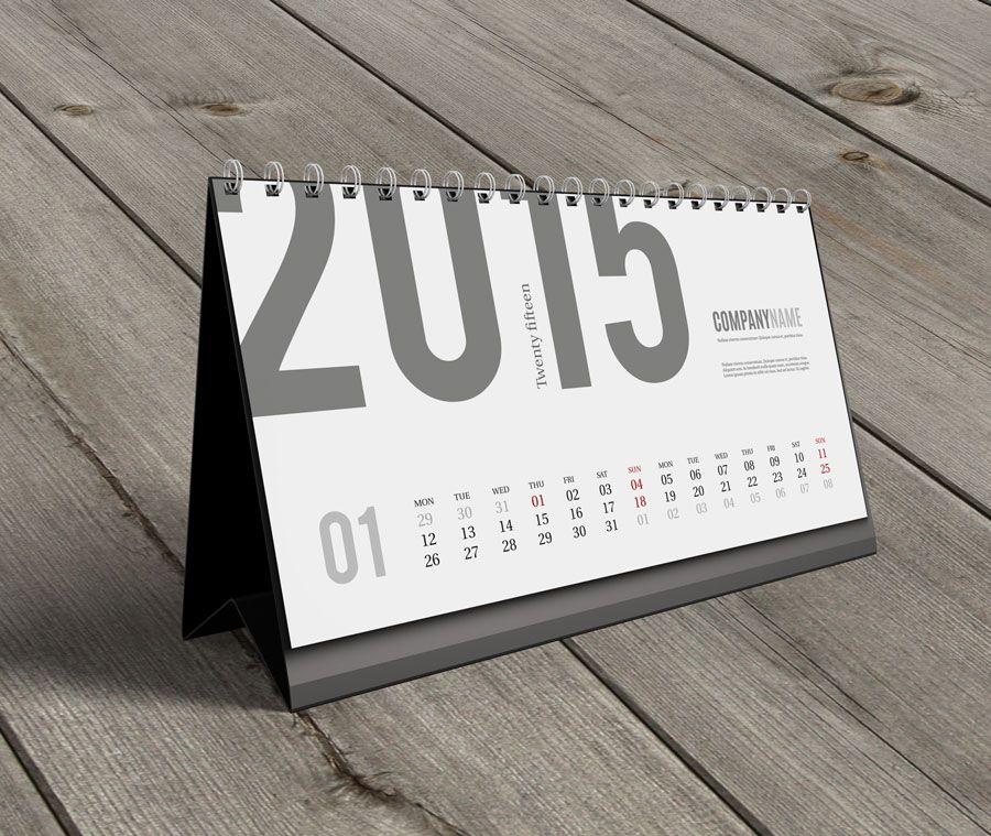 Awesome Desk Calendar Template Gallery Resume Ideas Namanasa Com