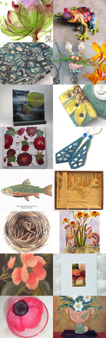 Let's Go for a Stroll!  First Friday Art Walk Weekend April by Michele Delp on Etsy--Pinned with TreasuryPin.com