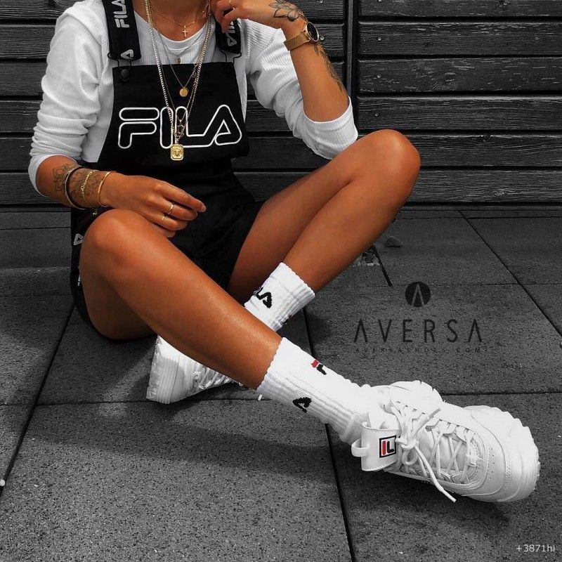 Wmn r Sneakers Fila Aversa Shoes Disruptor Bianca S l Low 8OPn0wk