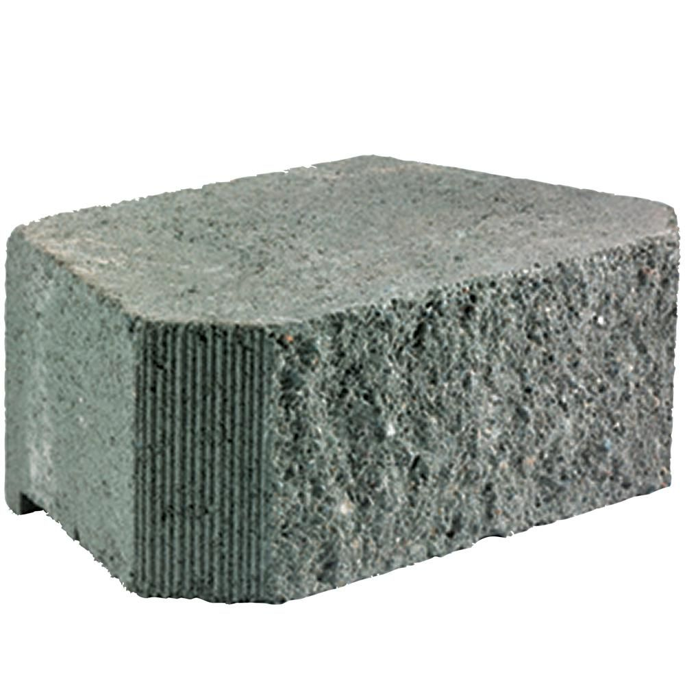 Pavestone Legacy Stone Deco 6 In X 16 In X 10 In Charcoal Concrete Retaining Wall Block 45 Pieces 30 2 Sq Ft Pallet 83603 The Home Depot In 2020 Concrete Retaining Walls Retaining Wall Block Landscaping Retaining Walls