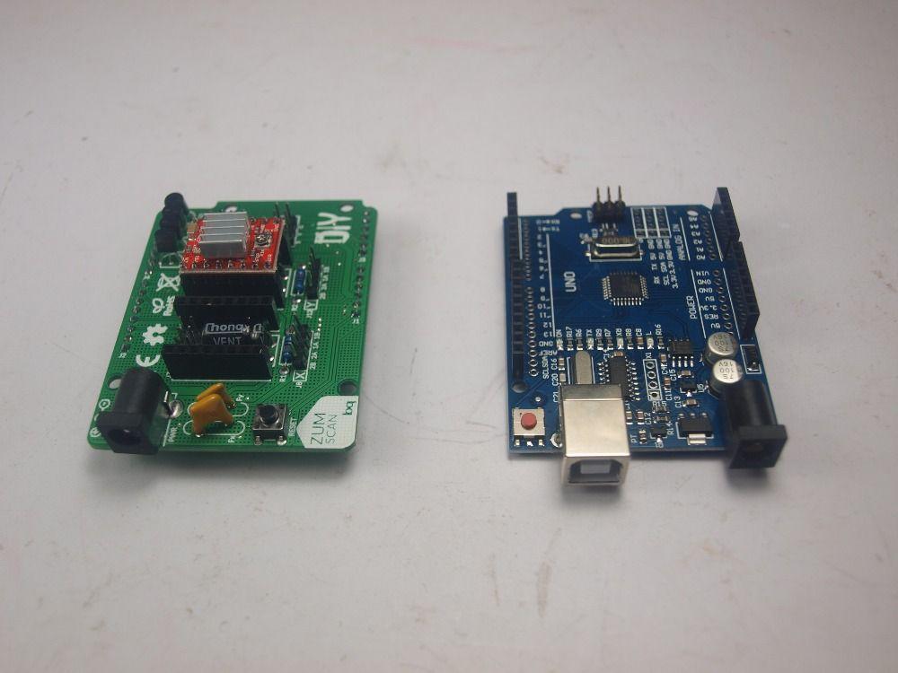 4db35cbb124e8a27b05030defe18f3dc bq ciclop 3d scanner board kit,arduino uno controller,zum scan  at mifinder.co