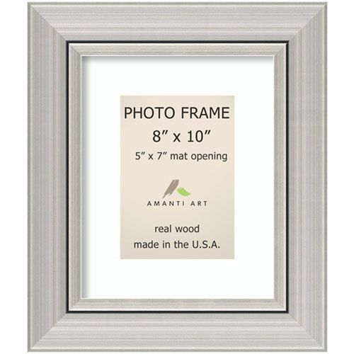 Romano Silver 12 X 14 Inch Picture Frame Amanti Art Photo Frame Frame