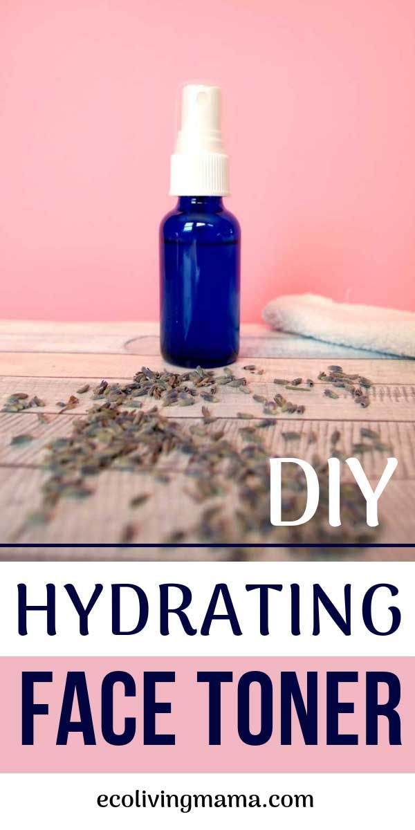 How to Make DIY Face Toner with Witch Hazel and Aloe Vera #homemadeskincare