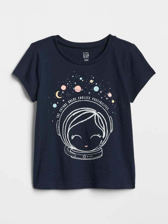 6af6255c1be692 Gap Graphic Sort Sleeve T-Shirt