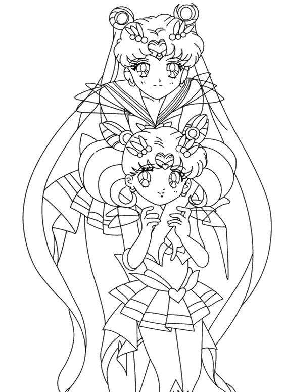 Ausmalbild Sailor Moon Manga Series Sailor Moon Ausmalbilder Sailor Moon Geburtstag