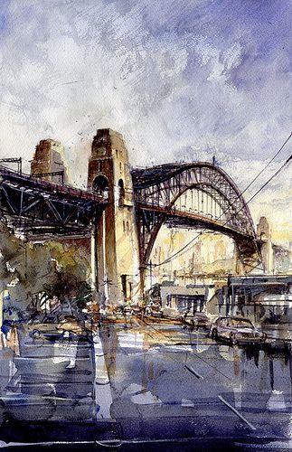 Sydney Harbour Bridge In 2019 Art City Scapes