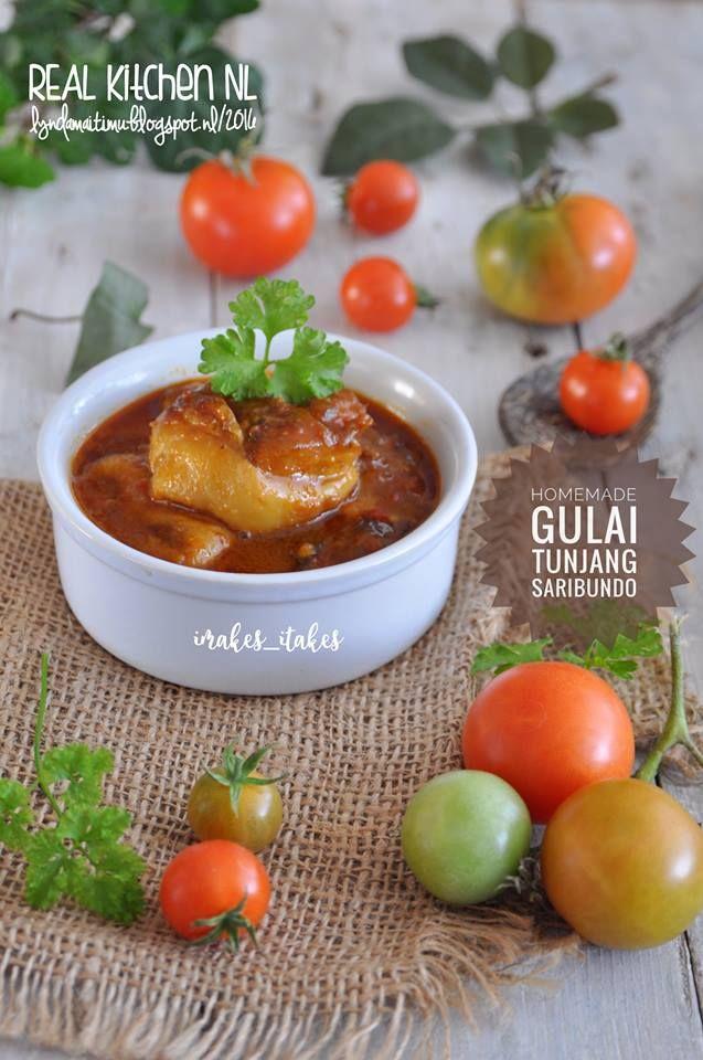 Gulai Tunjang Saribundo Source Saribundo Masakanpadang Modifiasi By Real Kitchen Nl Gulai Kikil Tunjang Mas Gulai Resep Masakan Resep Masakan Indonesia