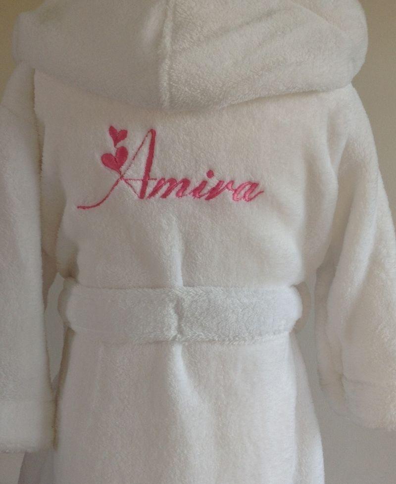 Kids-Dressing-gown-personalised-white-bathrobe-girls-pink.jpg (JPEG ...