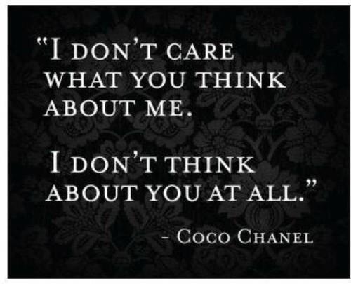 I knew I loved Chanel