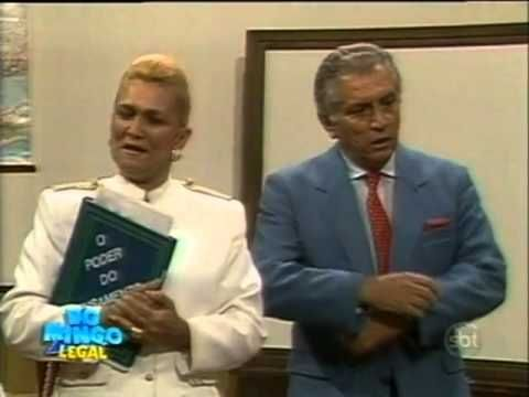 Domingo Legal - Hebe Camargo na Escolinha do Golias; relembre