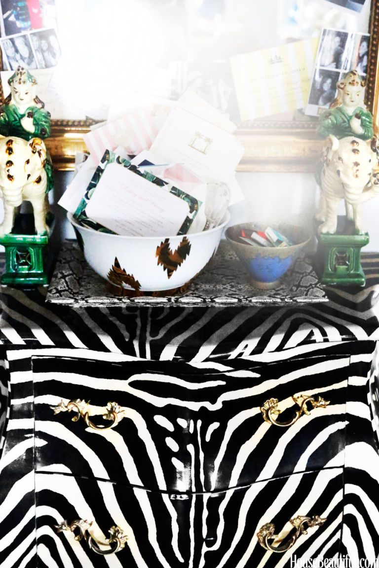 One Designer's Penchant for Print, Particularly Zebra