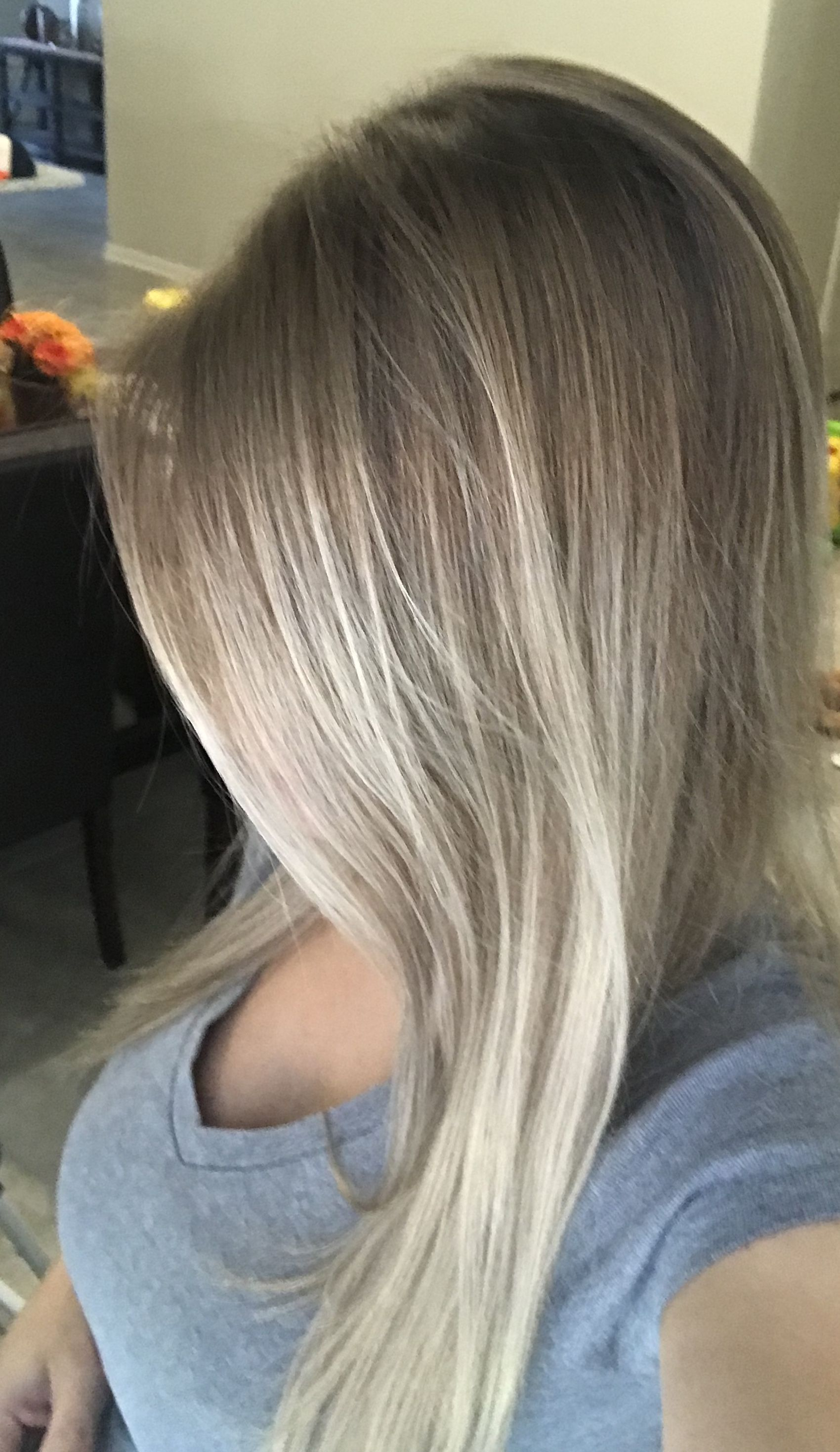 Wella T35 Toner I Put This On My Faded And Yellowing Balayage And Love The Soft Neutral Results I Mixed It With A 10 V An Balayage Bleached Hair Hair Styles