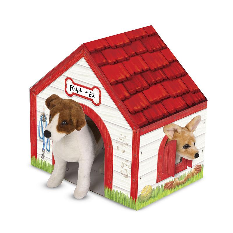 Melissa Doug Doghouse Plush Pet Playhouse Pets Best Pets For Kids Low Maintenance Pets